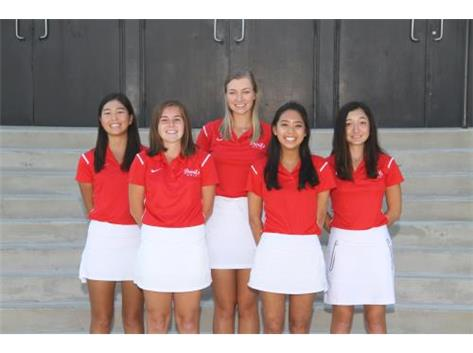2016 Senior Golfers