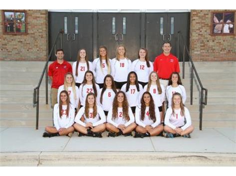 2016 Varsity Volleyball Team