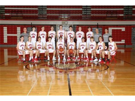 2016-17 Boys Varsity Basketball Team