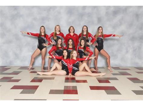 2016-17 Girls Varsity Gymnastics Team