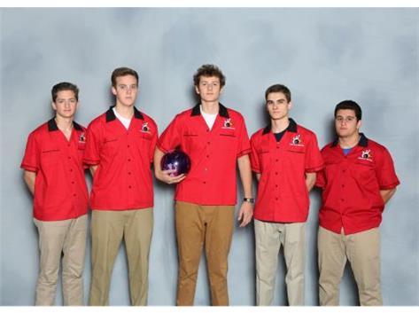 2016-17 Boys Bowling Team Seniors