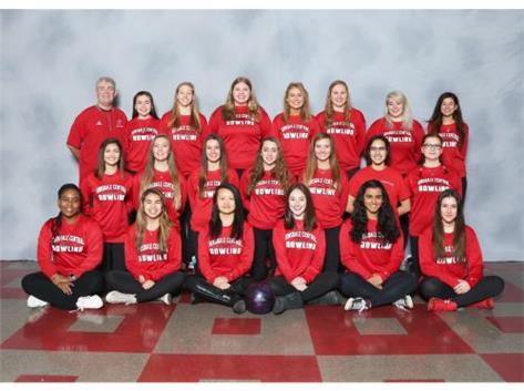 2016-17 Girls Bowling Team