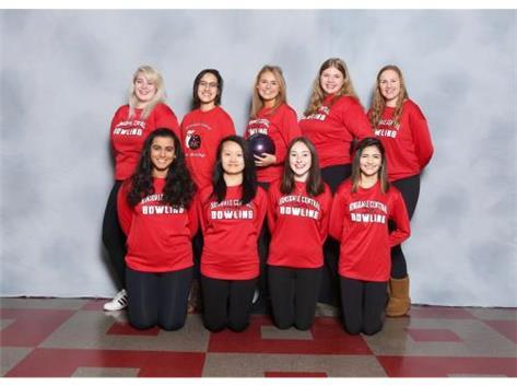 2016-17 Girls Bowling Team Seniors
