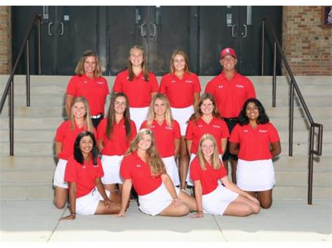 2017 GIRLS VARSITY GOLF TEAM