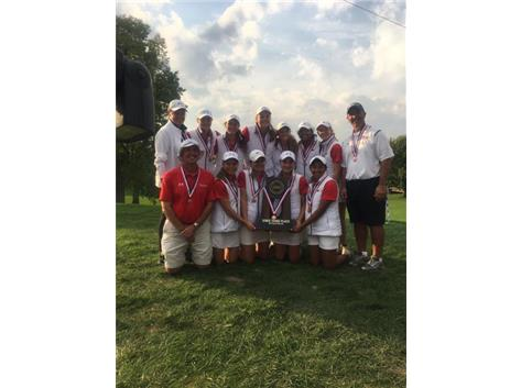 GIRLS GOLF - 3RD PLACE AT STATE!!!