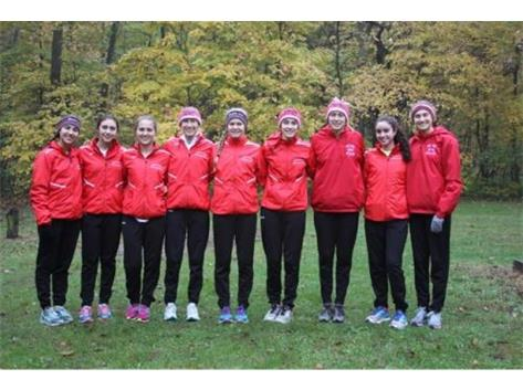 GIRLS CROSS COUNTRY - 10TH PLACE AT STATE!