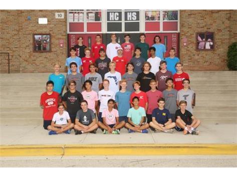2018 Cross Country Juniors/Seniors