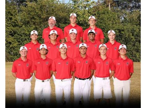2020 Boys Varsity Golf Team