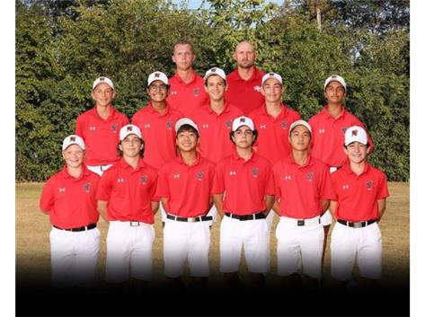 2020 Boys JV Golf Team