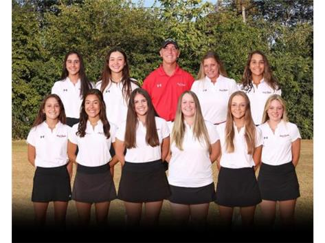 2020 Girls Varsity Golf Team