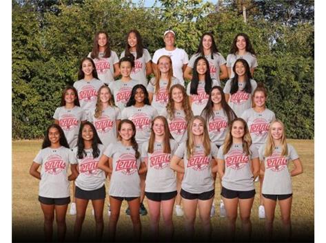 2020 Girls Varsity Tennis Team