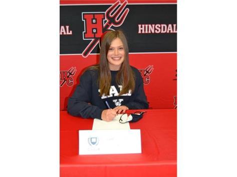 Congratulations Charlotte Callahan! Charlotte will be playing lacrosse at Yale University!