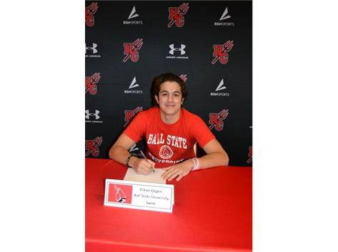 Congratulations, Erkan Ozgen! He will be swimming at Ball State University in the fall!