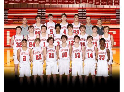 20-21 Boys Varsity Basketball Team