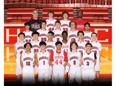 20-21 Boys Sophomore Basketball Team