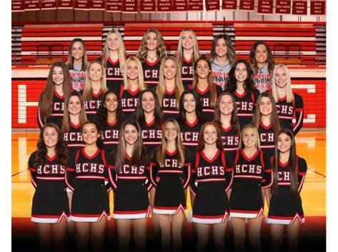 20-21 Varsity Cheer Team