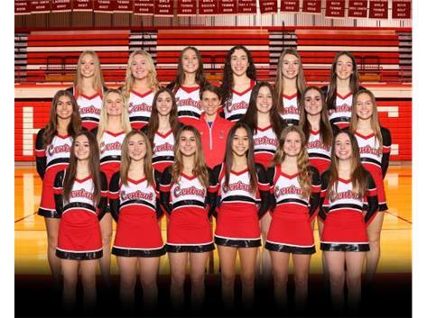 20-21 Varsity Pom Team