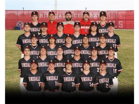 20-21 Varsity Baseball Team