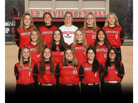 20-21 Varsity Softball Team
