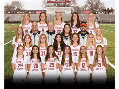 20-21 Varsity Lacrosse Team