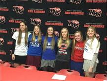 Girls soccer-Signing Day-February 2016