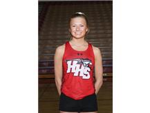 Varsity Girls Tack & Field 's Mary Raclawski is this week's Culver's of Huntley HHS Athlete of the Week.  At the McHenry Country Track Meet, Mary became the champion of the 800 Meter race, and helped her teams become the Champion in the 4X800 & 4X400 Meter Relays.  Congratulations Mary!