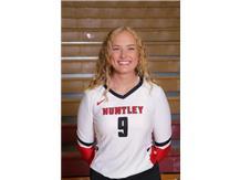 Loren Alberts (2019) - Girls Volleyball - Culver's of Huntley HHS Athlete of the Week - Week of 10/15/18
