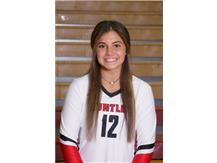 Taylor Jakubowski (2020) - Girls Volleyball - Culver's of Huntley HHS Athlete of the Week - Week of 10/29/18