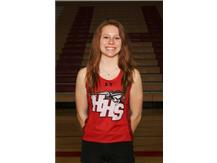 This week's Culver's of Huntley HHS Athletes of the Week is Girls Track & Field's Sabrina Krog.   Sabrina finished 1st place finishes in the 4x1, 4x2, and the 4x4 relays at the Woodstock Invite Congratulations Sabrina!