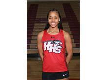This week's Culver's of Huntley HHS Athletes of the Week is Girls Track & Field's Daryn Davis.   Daryn was 3 event champion winning the triple jump, long jump, and 100 Hurdles at the Fox Valley Conference Track and Field Championships which contributed to the team winning the overall team title.  Congratulations Daryn!