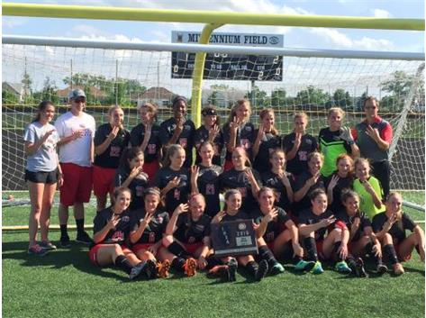 Girls Soccer: 2016 Sectional Champs