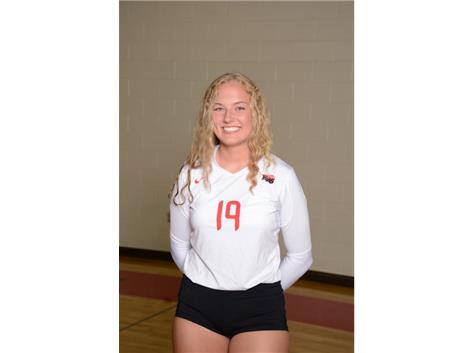 Loren Alberts (2019) - Volleyball - Culver's of Huntley HHS Athlete of the Week - Week of 8/28/17