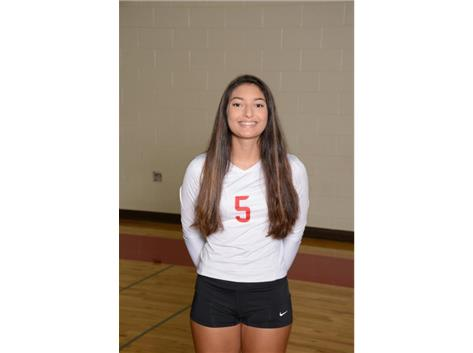 Sarah Zayas - (2019) - Girls Volleyball - Culver's of Huntley HHS Athlete of the Week - Week of 10/23/17