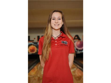 Mary Boffa - (2019) - Girls Bowling - Culver's of Huntley HHS Athlete of the Week - Week of 12/11/17