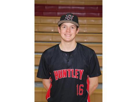 Baseball's Senior Grant Yakimisky is this week's Culver's of Huntley HHS Athlete of the Week - Week of 3/26/18
