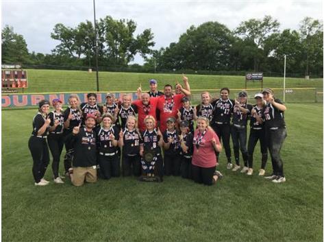 2019 Class 4A Softball State Champions!