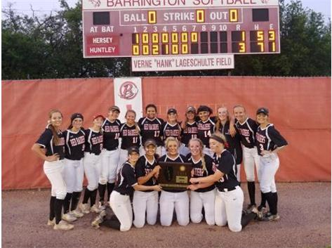 2019 Super Sectional Champions First time in Softball History at HHS