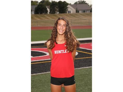 Breanna Burak (2023) - Varsity Girls Cross Country- Culver's of Huntley Athlete of the Week - Week of 8/31/20-9/6/20