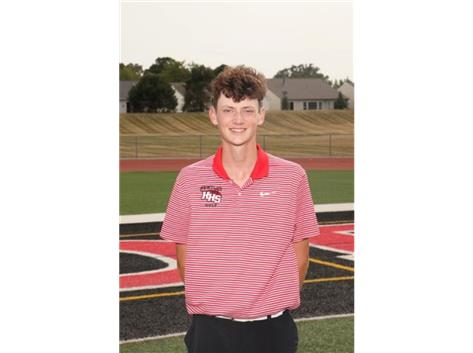 Danny Sheedy (2022) - Varsity Boys Golf - Culver's of Huntley Athlete of the Week - Week of 9/14/20-9/20/20