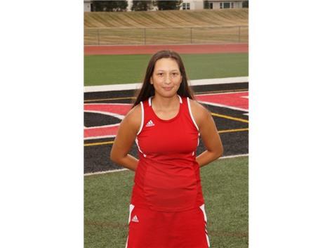 Alessandra Rivera (2021) - Varsity Girls Tennis - Culver's of Huntley Athlete of the Week - Week of 9/28/20-10/4/20