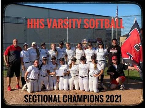 2021 Sectional Champions Harlem 1 HHS 7