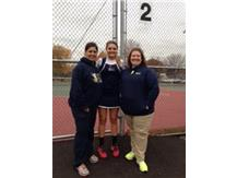 Congratulations Kelley Hodyl on advancing to the Girls Tennis State Finals!