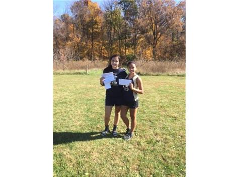 The ICCP Girls XC program unfortunately did not advance to the Sectional Meet but did qualify their 1 and 2 runners. Mikko Eguia and Arianna Estrada ran well enough at the Aurora Christian Regional to Advance to this weekend's Lisle Sectional.