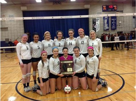 Congratulations to the Varsity Girls Volleyball Team on their 2014 IHSA Class 2A Regional Championship!