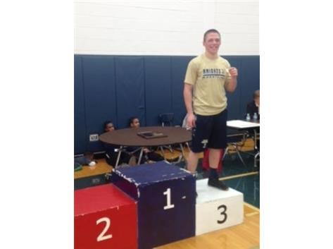 Regional 3rd Place, Max Eichhorn
