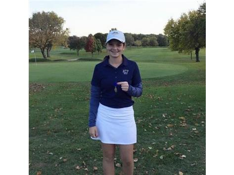 Maddie Hurt Wins Class 1A Sectional with a 74!