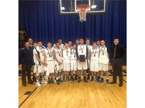 ICCP/Westmont Christmas Tournament Champions