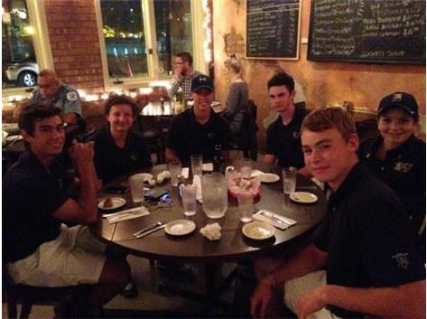 A late finish in the city allowed for a team dinner at Tufano's in the Little Italy neighborhood of Chicago.