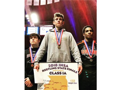 Joey Bianchini back-to-back 1A State Champ