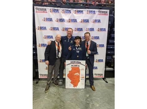Saul Trejo wins State Championship